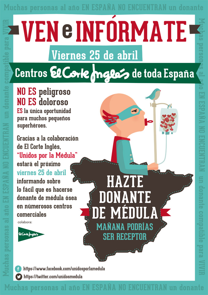 Cartel Corte Ingles